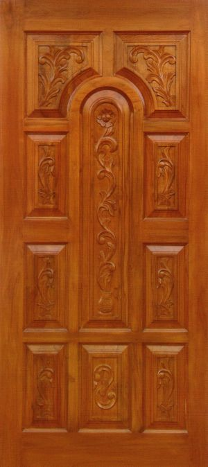 Teak wood doors quality teak wooden doors in bangalore for Take door designs