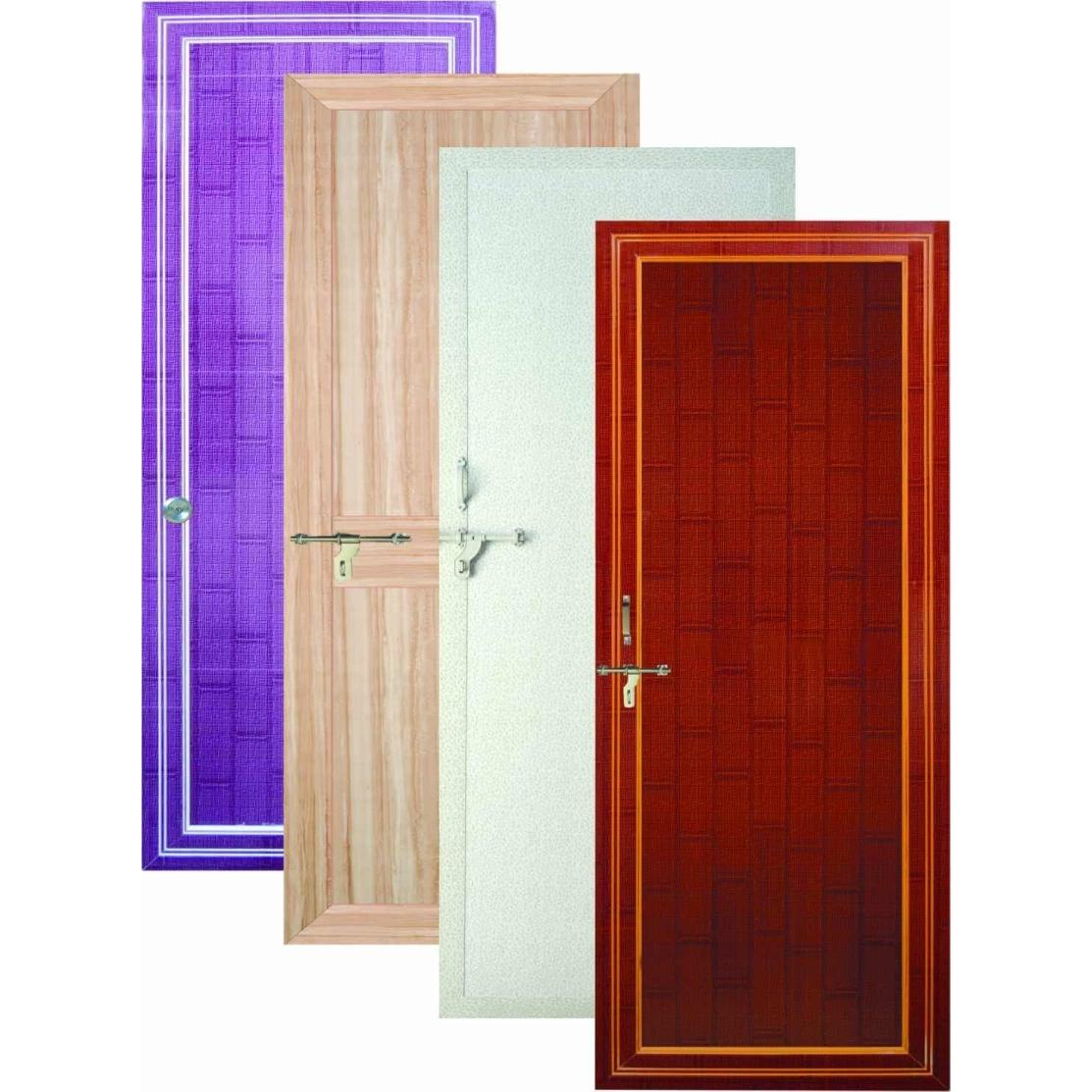 Plastic Coated Kitchen Doors